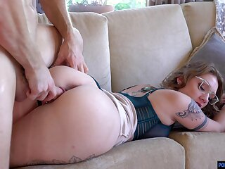 Hot tempered neonate Aria Kai goes wild ona big cock and gets fucked and creampied