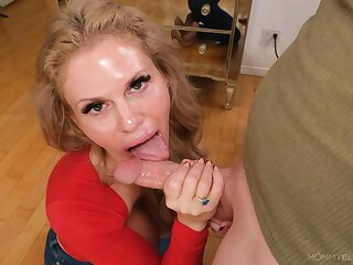 Bush-league mature wife comedy with the dick in a flawless POV