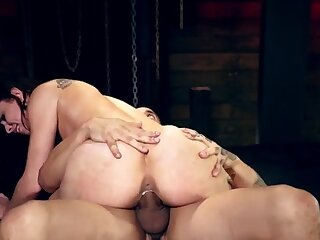 Kinky amateur bondage first time Best pals Aidra Fox and