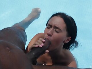 Sex by be transferred to unify in extreme interracial scenes be proper of a slim wife