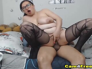 Big Busty Tits Babe Pounded by Hard Cock