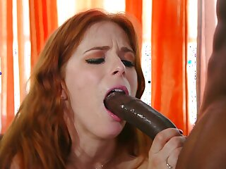 Horseshit hungry redhead Penny Pax enjoys getting fucked by a unscrupulous dude