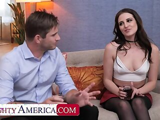 Naughty America: Aubree Valentine gets railed by her friend's husband on PornHD
